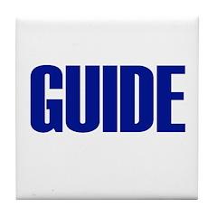 Guide Tile Coaster