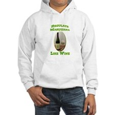 Regulate Marijuana Hoodie