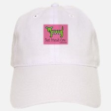 Breast Cancer Awareness Dog Baseball Baseball Cap