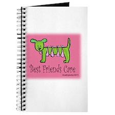 Breast Cancer Awareness Dog Journal