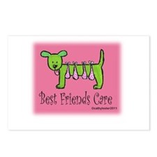 Breast Cancer Awareness Dog Postcards (Package of