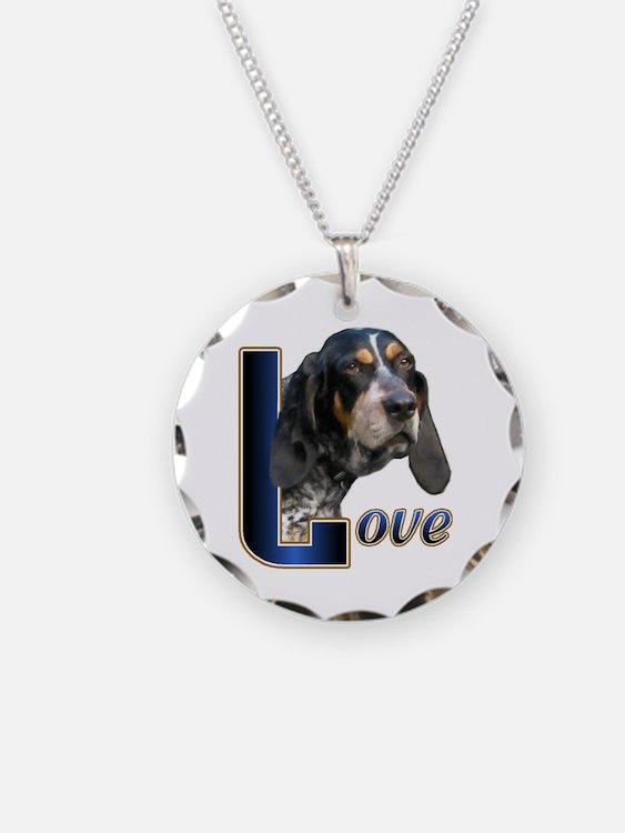 Bluetick Coonhound Love Necklace