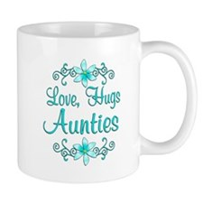 Love Hugs Aunties Mug