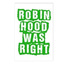 Robin Hood Was Right Postcards (Package of 8)
