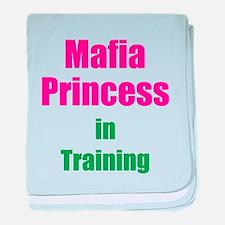 Mafia Princess in Training baby blanket