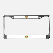 GREEBO NATIONS License Plate Frame