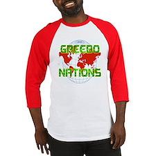 GREEBO NATIONS Baseball Jersey