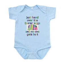 Funny Easter Eggs Infant Bodysuit