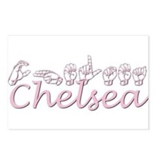 Chelsea-pink Postcards (Package of 8)