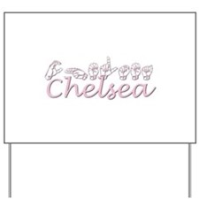 Chelsea-pink Yard Sign