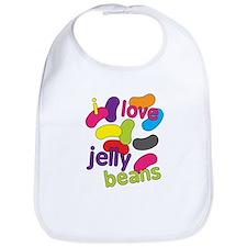 I love jelly beans Bib