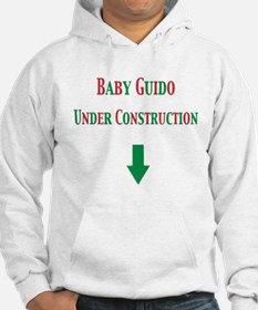 Baby Guido Under Construction Hoodie