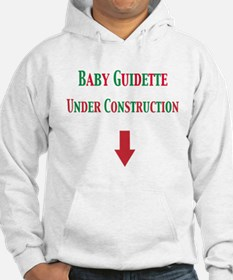 Baby Guidette Under Construction Hoodie