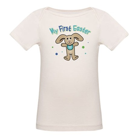 Baby Boy First Easter Organic Baby T-Shirt