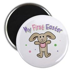 Baby Girl First Easter Magnet