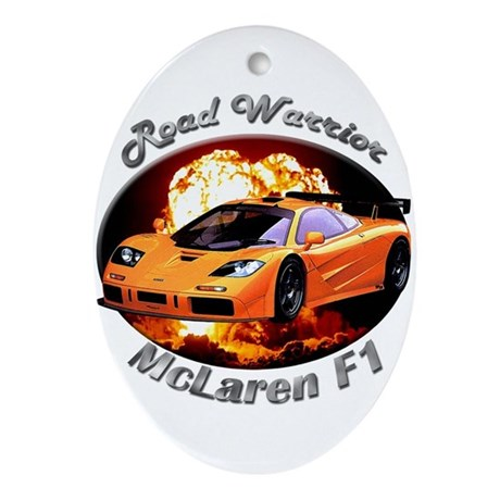 McLaren F1 Ornament (Oval)