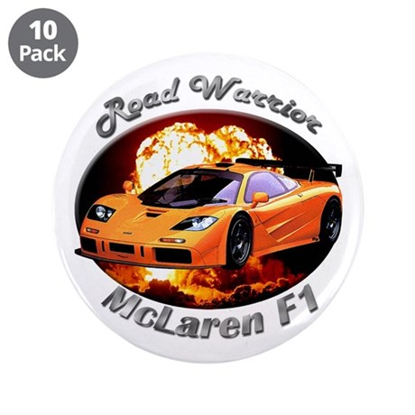 McLaren F1 3.5 Inch Button (10 pack)