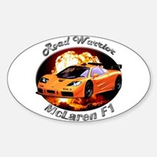 McLaren F1 Sticker (Oval 10 pk)
