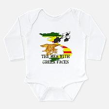 Navy SEALs TMWGF Long Sleeve Infant Bodysuit