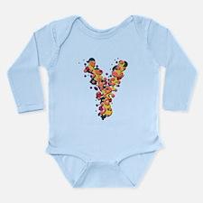 Y Fiesta Long Sleeve Infant Bodysuit