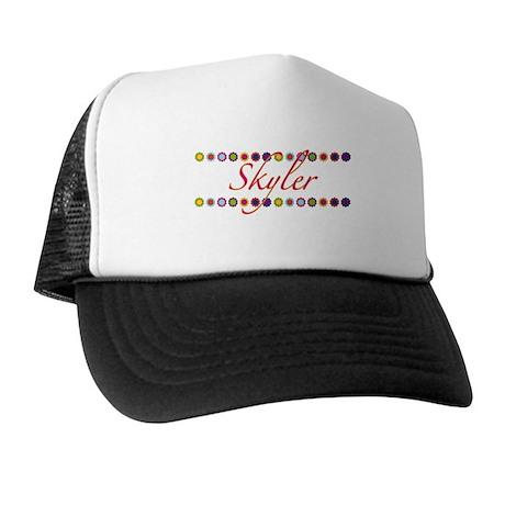 Skyler with Flowers Trucker Hat