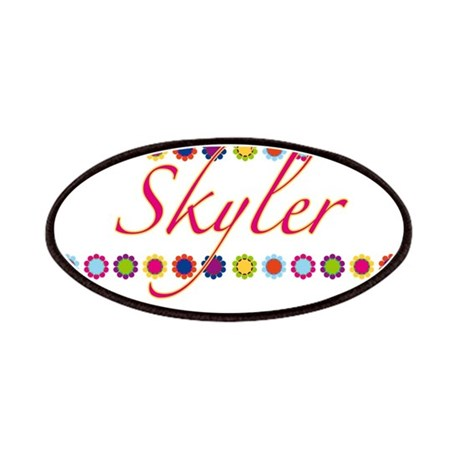 Skyler with Flowers Patches