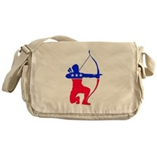 Robin Hood Party Occupy Protests Messenger Bag