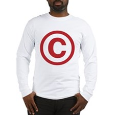 I Am Copyright Long Sleeve T-Shirt