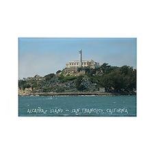 Alcatraz Island Rectangle Magnet
