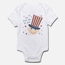 Baby's First 4th Infant Bodysuit