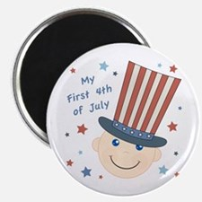 Baby's First 4th Magnet