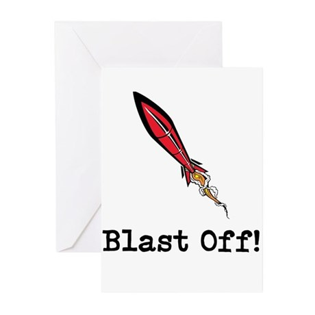 Blast Off! Greeting Cards (Pk of 20)