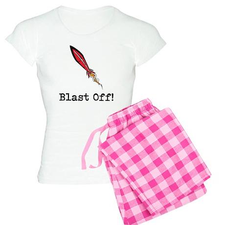 Blast Off! Women's Light Pajamas