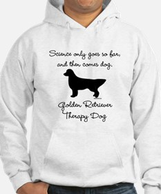 Golden Retriever Therapy Dog Jumper Hoodie
