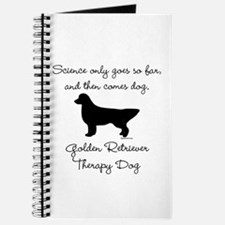 Golden Retriever Therapy Dog Journal