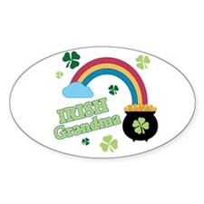 Irish Grandma Decal