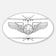 Cute Mq 9 reaper Sticker (Oval)