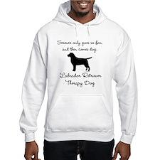 Labrador Retriever Therapy Dog Hoodie
