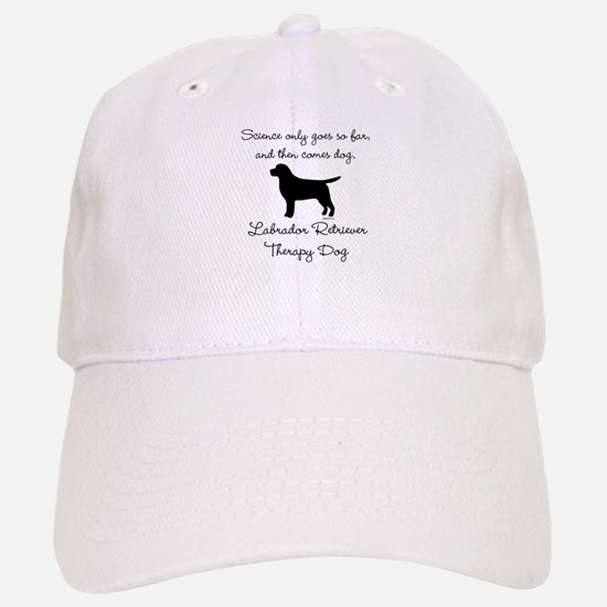 Labrador Retriever Therapy Dog Baseball Baseball Cap
