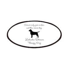 Labrador Retriever Therapy Dog Patches