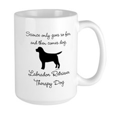 Labrador Retriever Therapy Dog Mug