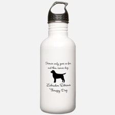 Labrador Retriever Therapy Dog Water Bottle