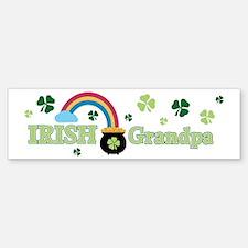 Irish Grandpa Bumper Bumper Sticker
