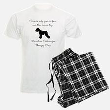 Mini Schnauzer Therapy Dog Pajamas