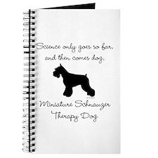 Mini Schnauzer Therapy Dog Journal