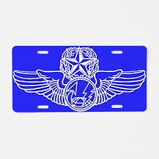 Funny Mq 9 reaper Aluminum License Plate