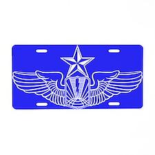 UAV/RPA Pilot Aluminum License Plate