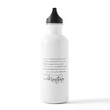 I Am a Marathoner Water Bottle