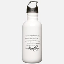 I Am a Marathoner Water Bottle