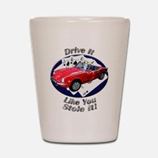 Triumph Spitfire Shot Glass